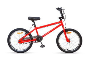 Boys Bright Red BMX