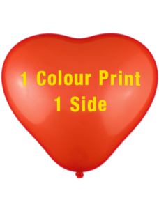 30cm Heart Shaped Balloons