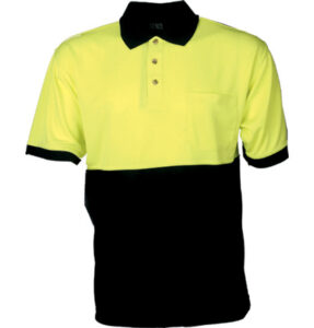 Mens Safety Cool Dry Short Sleeve