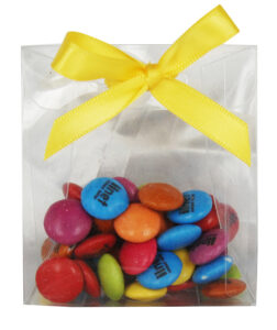 65 GRAMS SATCHEL CUSTOM PRINTED SMARTIES [TM] / CHOCOLATE BEANS