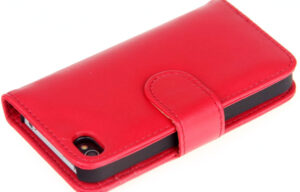 Leather Look iPhone Wallet with Card Slots