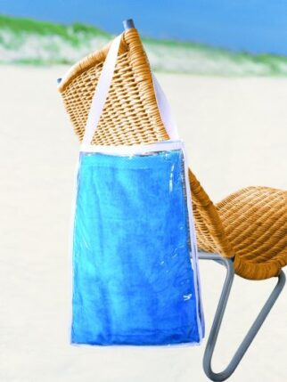 Beach Bag Clear PVC with shoulder strap