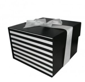 Small Flat Pack Gift Box with Ribbon