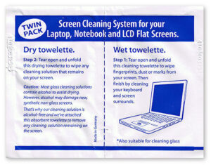 Towelette for Screen Cleaning