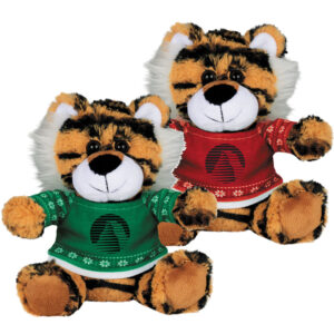 Ugly Sweater 6 Inch Tiger - Green