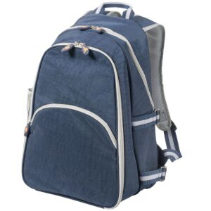 Trekk™ Compact Two Person Picnic Backpack - Blue