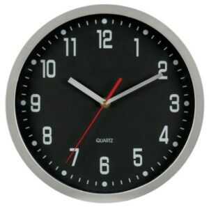WALL CLOCK ALUMINIUM ROUND 12 INCH 300MM