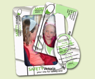 Magnet Double Photo Frame