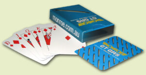 Playing Cards - Standard Face / Custom Printed Back