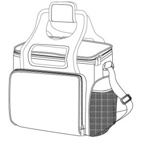 Step 1 - Build a Bag Style - Cooler Beach Can Cooler