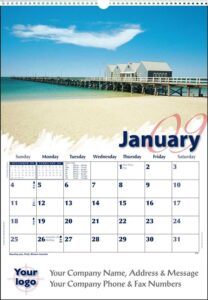 Australian Scenic Images Corporate Calendar