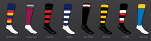 Australian Rules Football Team Socks