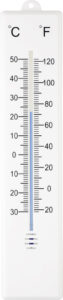 Plastic outdoor thermometer