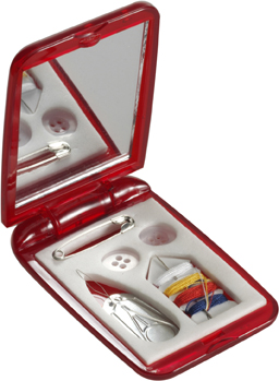 5pc Sewing set and mirror