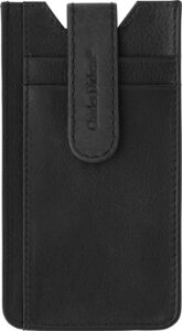 Leather Charles Dickens® mobile phone holder