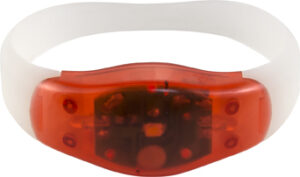 ABS and silicone wrist band