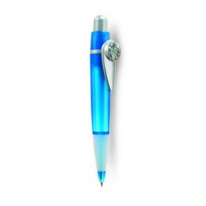 Ball pen with compass
