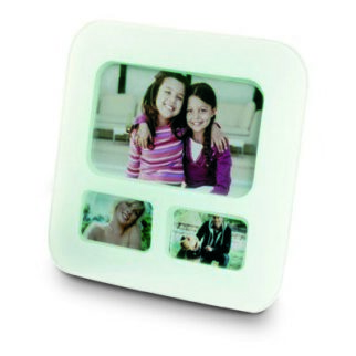 Glass phote frame for 3 pict.