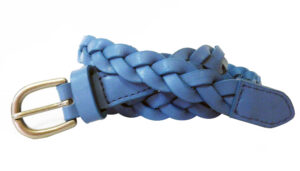 Carol Plaited Leather Belt