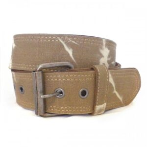 13M06031307Blk Genuine Leather Casual Belt