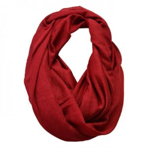 Harlow Red Faux Wool Scarf