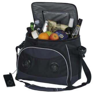 FESTIVAL MUSIC COOLER BAG WITH RADIO