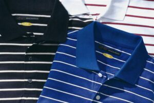 Greg Norman Play Dry Classic Stripe Polo