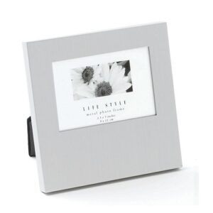 Life Style Offset Silver Photo Frame