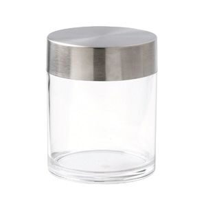 0.6Ltr Acrylic Container With S/S Lid
