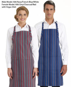 Bib Apron Stripe - 3 Colours