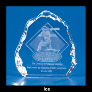 Ice Ice Crystal Trophy