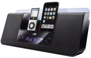 Double iPod/iPhone Dock Portable Audio System