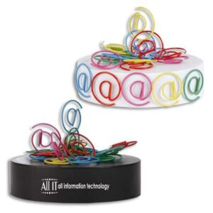 @ Shaped Paperclips On Magnetic Base