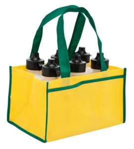 6 Bottle Drink Holder Non Woven Bag