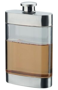 Clear Hip Flask