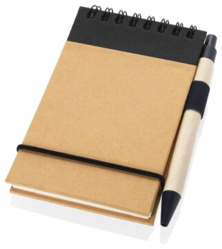 A6 Recycled Jotter with Pen