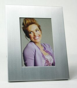 Photo Frame- Brushed stainless steel