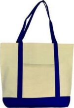 Boat Mate Gusseted Canvas Tote