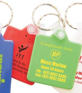 Colourful Keytags - Square