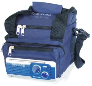 Cooltunes cooler bag with radio