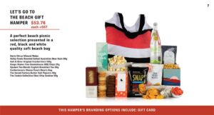 Lets Go To The Beach Gift Hamper