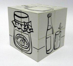 7cm Magic Cube Colouring