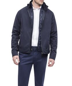 3 IN 1 WATER RESISTANT JACKET WITH REMOVABLE PUFFER VEST