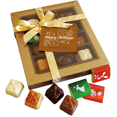 Box of 14 Christmas Chocolates