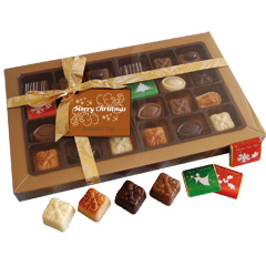 Box of 28 Christmas Chocolates