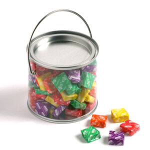 PVC Bucket filled with Tropical Chews 350g