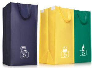 Waste Recycling Bag PP Woven Lamination - matt or shiny