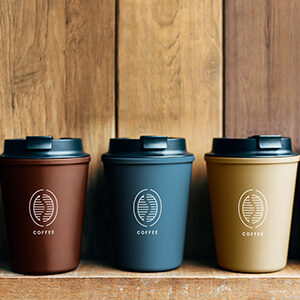 Branded Take Away Coffee Cups