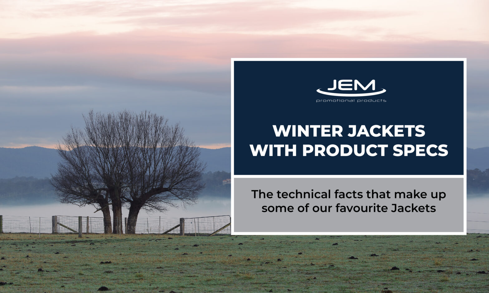 Winter Jackets With Product Specs