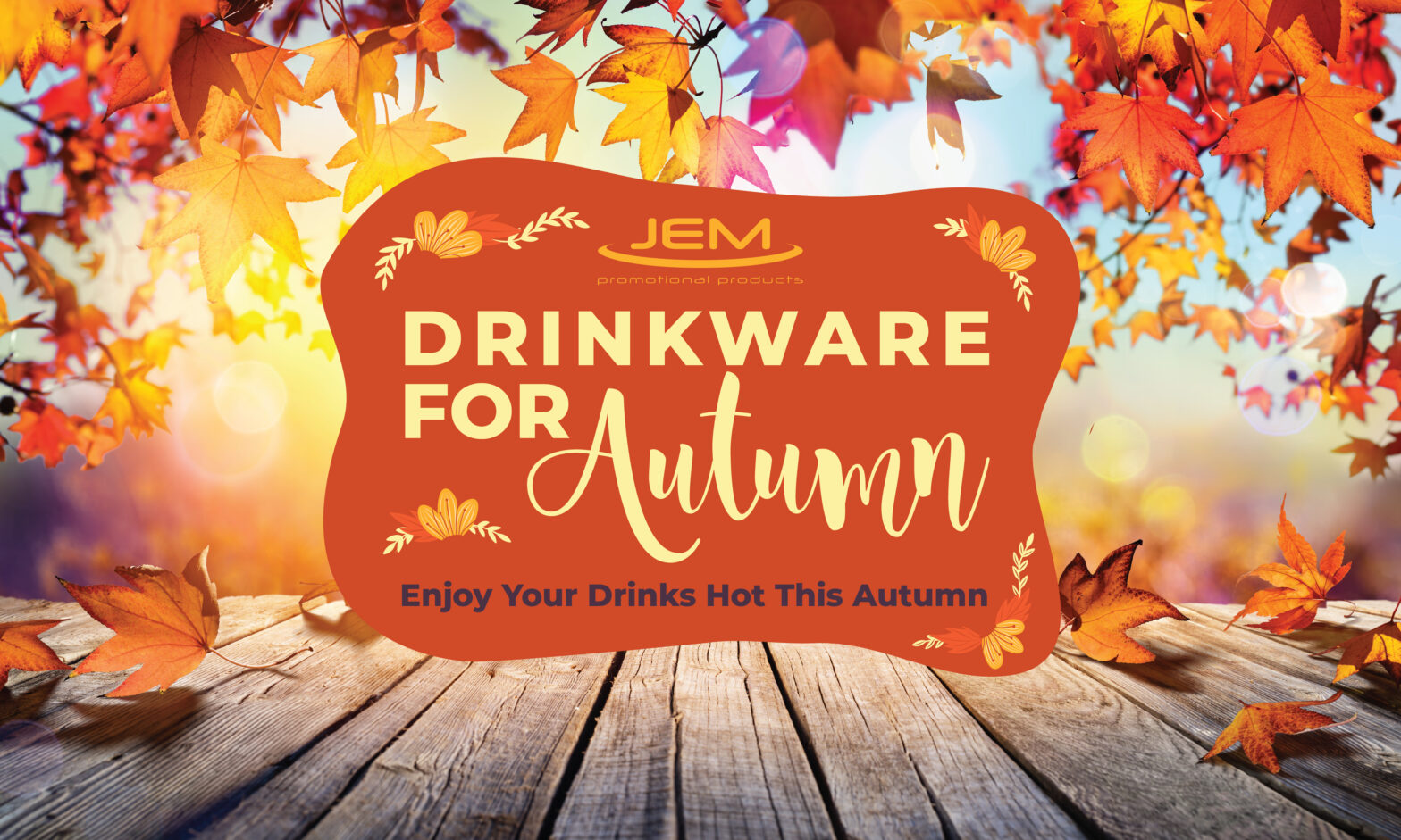 Drinkware for Autumn